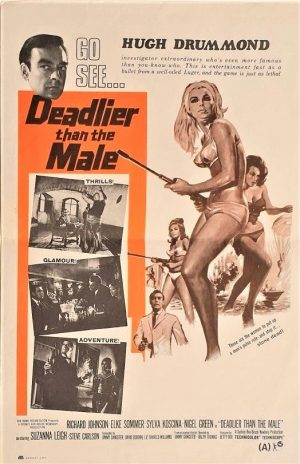 deadier than the male NZ daybill poster
