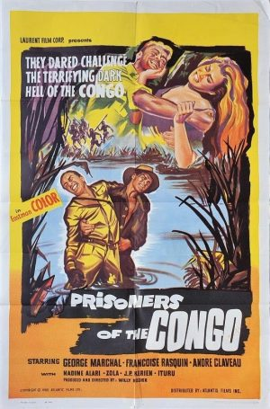 prisoners of the congo US one sheet movie poster 1960