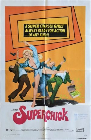 superchick us one sheet movie poster 1973