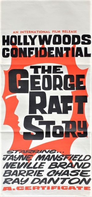 the george raft story australian daybill poster (2)