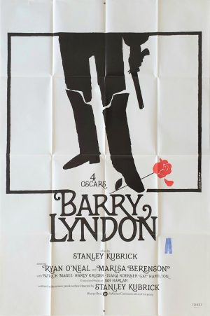 Barry Lyndon US one sheet poster by Stanley Kubrick
