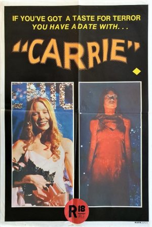 Carrie Australian mini poster by Stephen King 1976