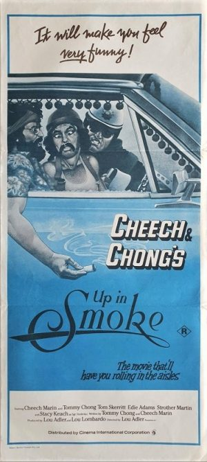 Cheech & Chong up in smoke daybill poster 2