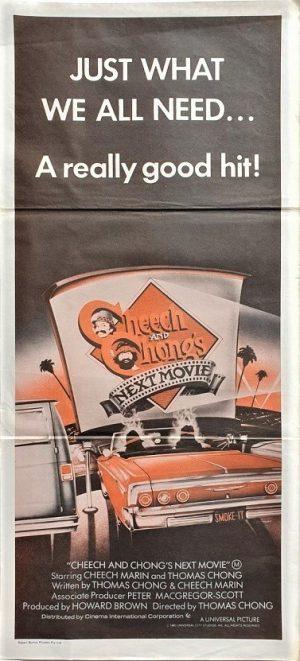 Cheech & Chong's next movie daybill poster (3)