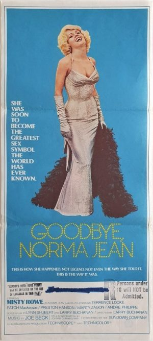 Goodbye norma jean daybill poster with Misty Rowe 1976