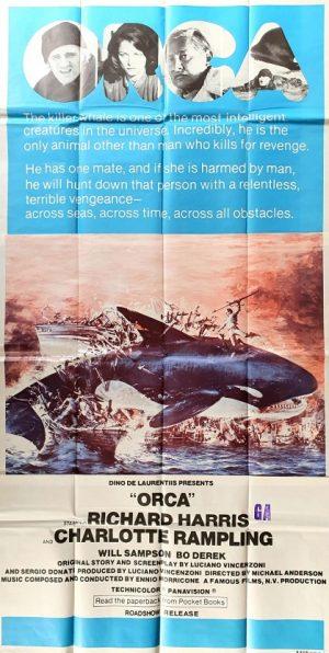 Orca australian 3 sheet poster