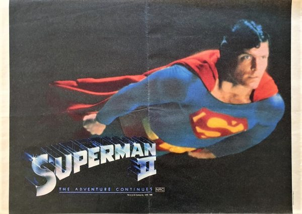 Superman 2 Australian newspaper poster (2)