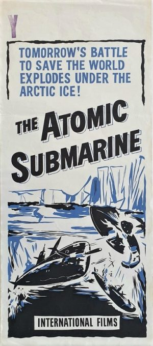 The Atomic submarine daybill poster 1959