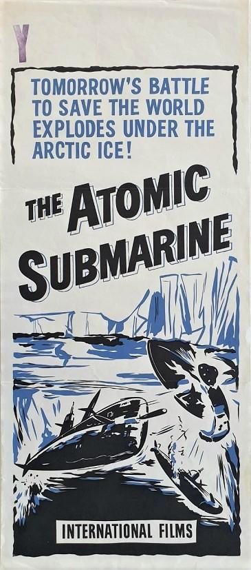 The Atomic submarine daybill poster 1959