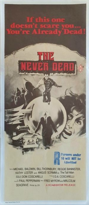 The Never Dead Phantasm australian daybill poster 1979 (3)
