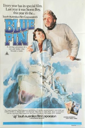 blue fin australian one sheet poster