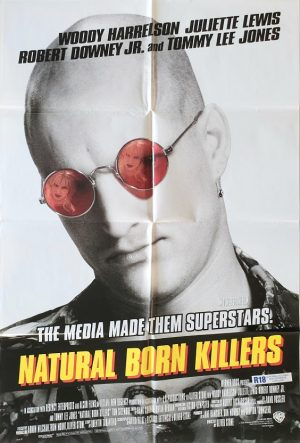 natural born killers US one sheet poster