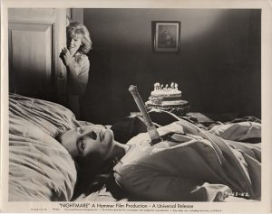 nightmare 1964 hammer horror US still