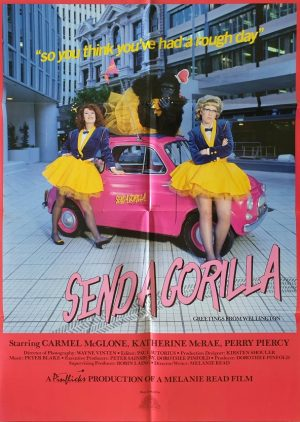 send a gorilla NZ one sheet poster 1988