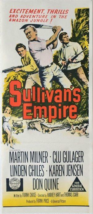 sullivan's empire daybill poster 1967