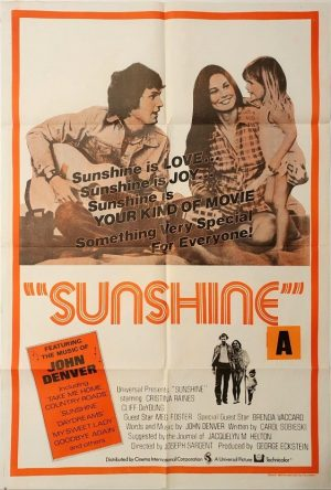 sunshine Australian one sheet poster with John Denver (4)