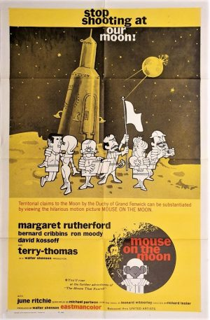 the mouse on the moon US one sheet poster 1963