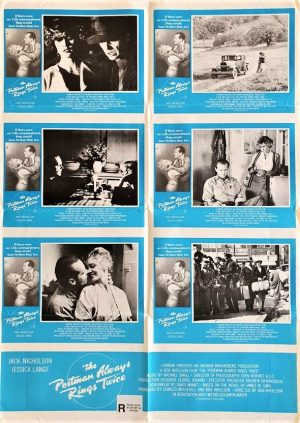 the postman always rings twice Australian lobby card one sheet poster (6)
