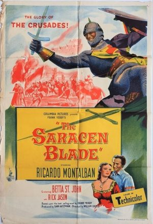 the saracen blade australian one sheet movie poster (2)