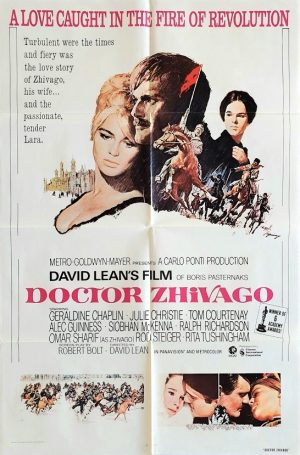 Doctor Zhivago US one sheet poster by David Lean
