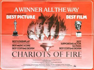 Chariots of fire 1981 UK Quad poster
