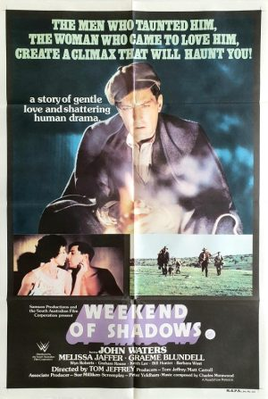 weekend of shadows australian one sheet poster