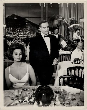 A Countess From Hong Kong US Still With Sophia Loren and Marlon Brando (3)