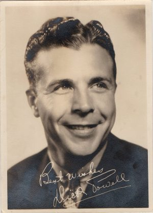 Dick Powell 1936 fan club portrait from Warner Bros Pictures (1)