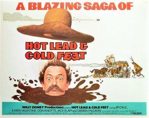 Hot Lead & Cold Feet Walt Disney US Lobby Card set (8)