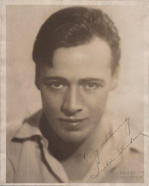 Leslie Fenton 1920's signed portrait photograph