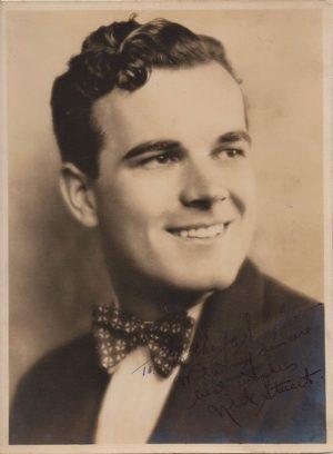 Nick Stuart 1930 Signed Portrait