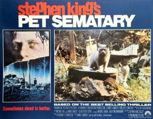 Pet Sematary lobby card set written by Stephen King (2)