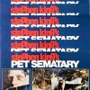 Pet Sematary lobby card set written by Stephen King (4)