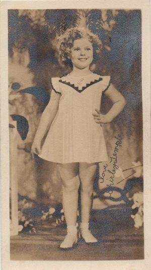 Shirley Temple fan club portrait 1930's 20th Century Fox (3)