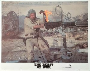 The Beast of War US Lobby Card Set (6)