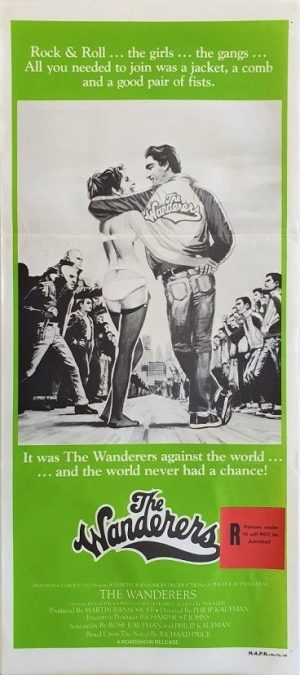 The Wanderers australian daybill poster ultra rare 60's New York gang movie DB2