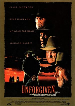 Unforgiven with Clint Eastwood flyer (2)