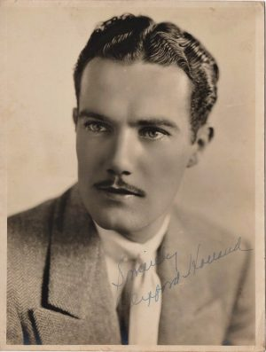 clifford holland also knwn as john holland signed 1920's portrait (1)