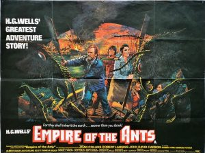 empire of the ants uk quad poster by H.G Wells 1977