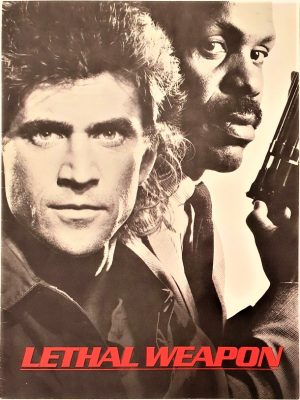 lethal weapon US Promo Brochure with Mel Gibson and Danny Glover (2)