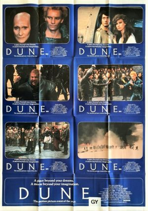 Dune Australian Lobby Card One Sheet David Lynch 1984