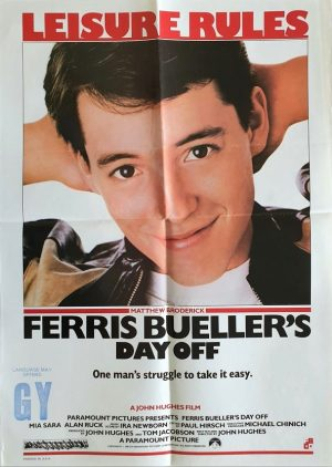 Ferris Bueller's Day Off mini poster 1985