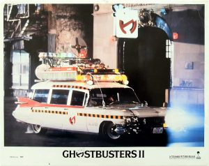 Ghostbusters 2 US Lobby Card Set (8 cards) 1989