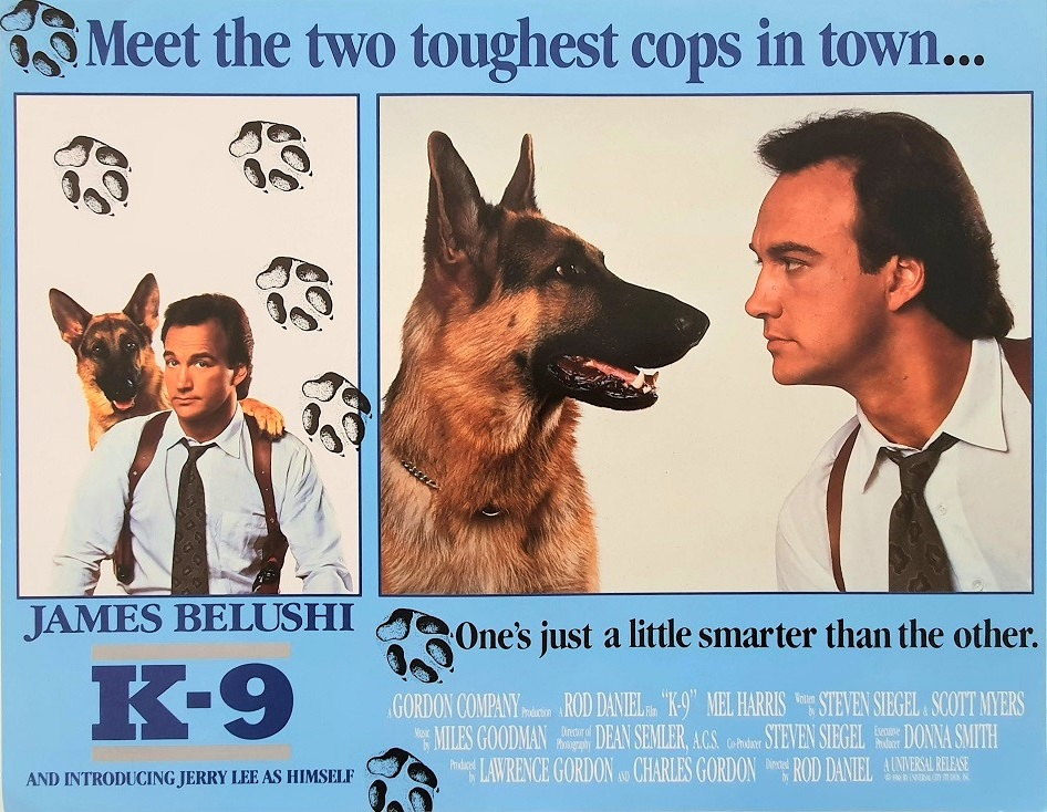 K-9 US Lobby Card Set (8 cards) 1988 German Shepherd