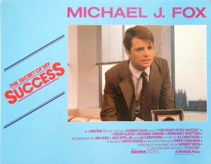 The secret of my success Michael J Fox US Lobby Card Set (8 cards) 1987