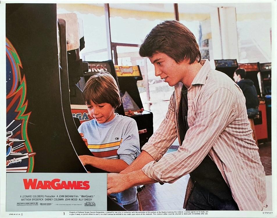 War Games US Lobby Card Set (8 cards) 1983