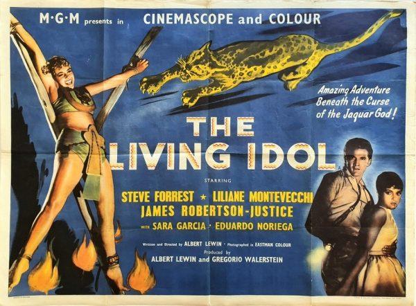 the living idol UK Quad poster 1956