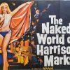 the naked world of harrison marks quad poster 1966