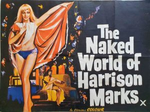 the naked world of harrison marks quad poster 1966