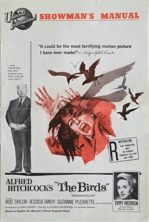 The birds 1963 Pressbook with Alfred Hitchcock